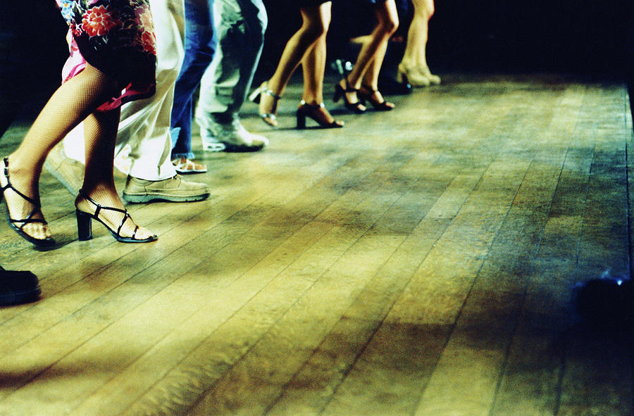 Line Of People Dancing, Low Section Photograph by Ghislain & Marie David De Lossy