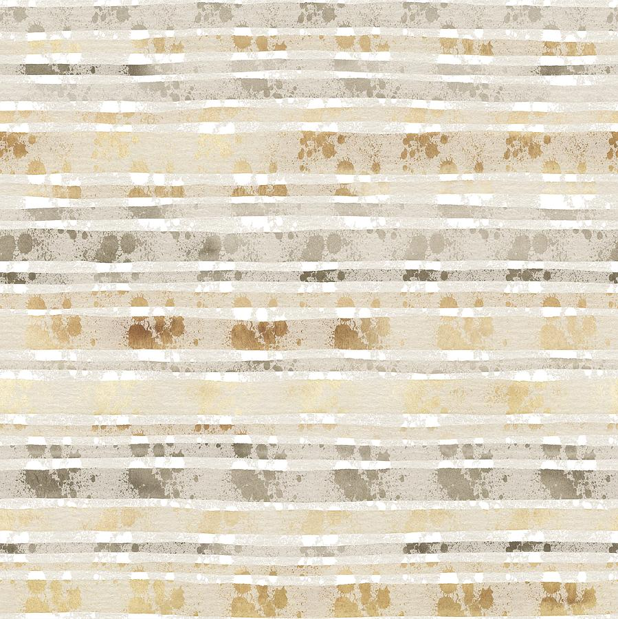 Sand Mixed Media - Linear Lines Sandy Pattern by Amanda Lakey