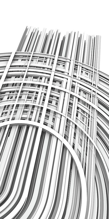 Lines And Curves 1 Digital Art