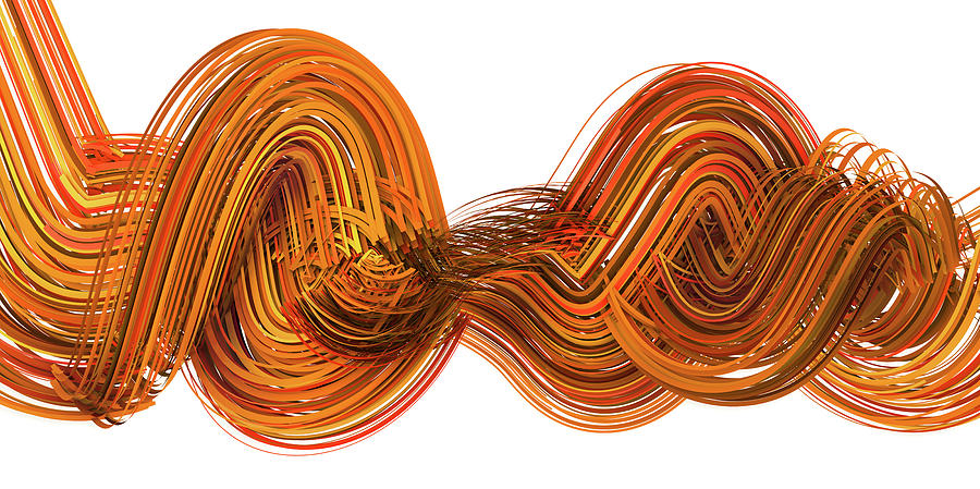 Lines And Curves 2 Digital Art