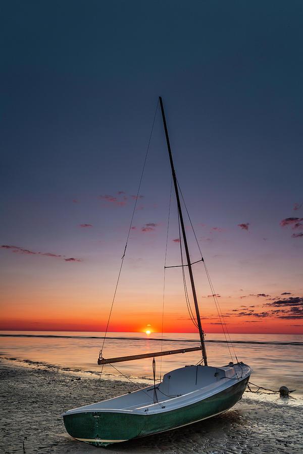 Linnett Landing Sunset by Fran Gallogly
