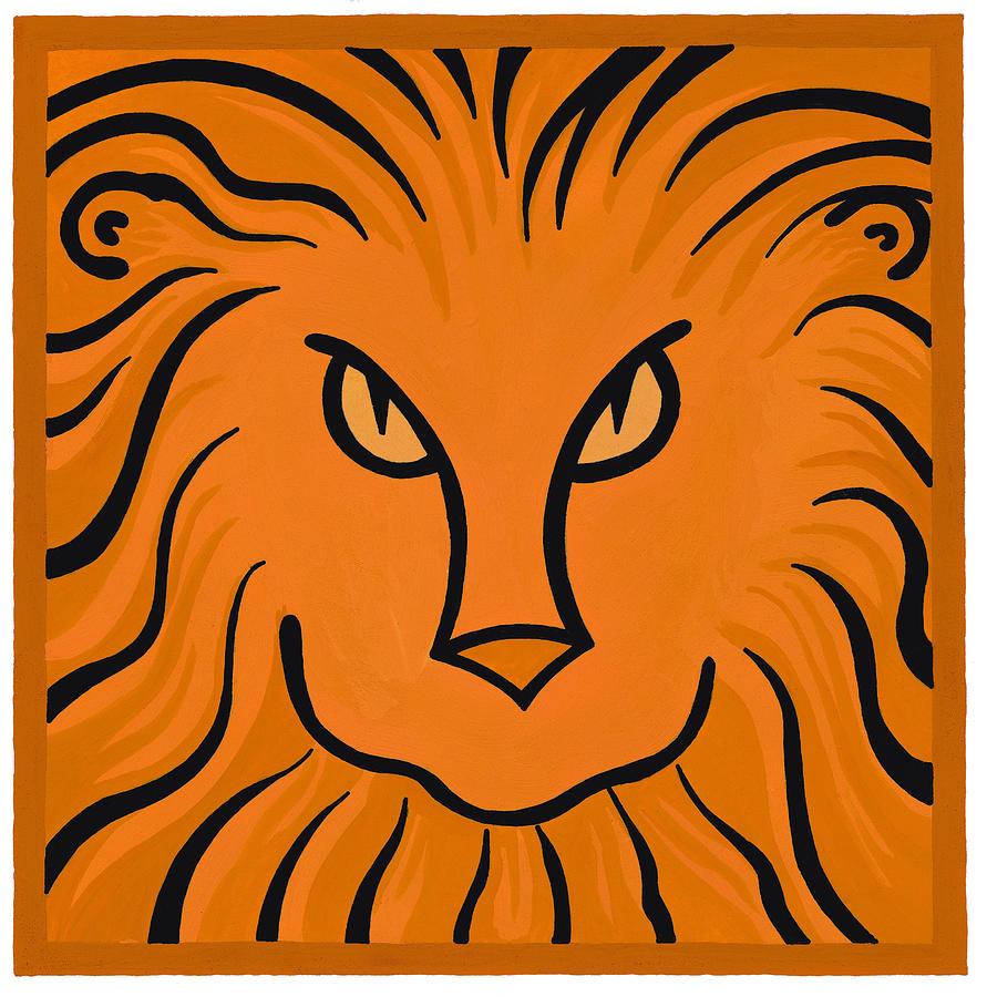 Lion Digital Art by Donna Ikkanda