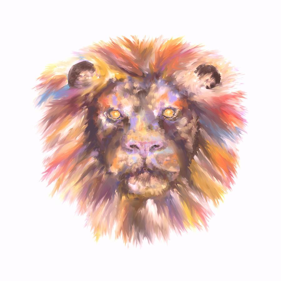 Lion by Elizabeth Lock