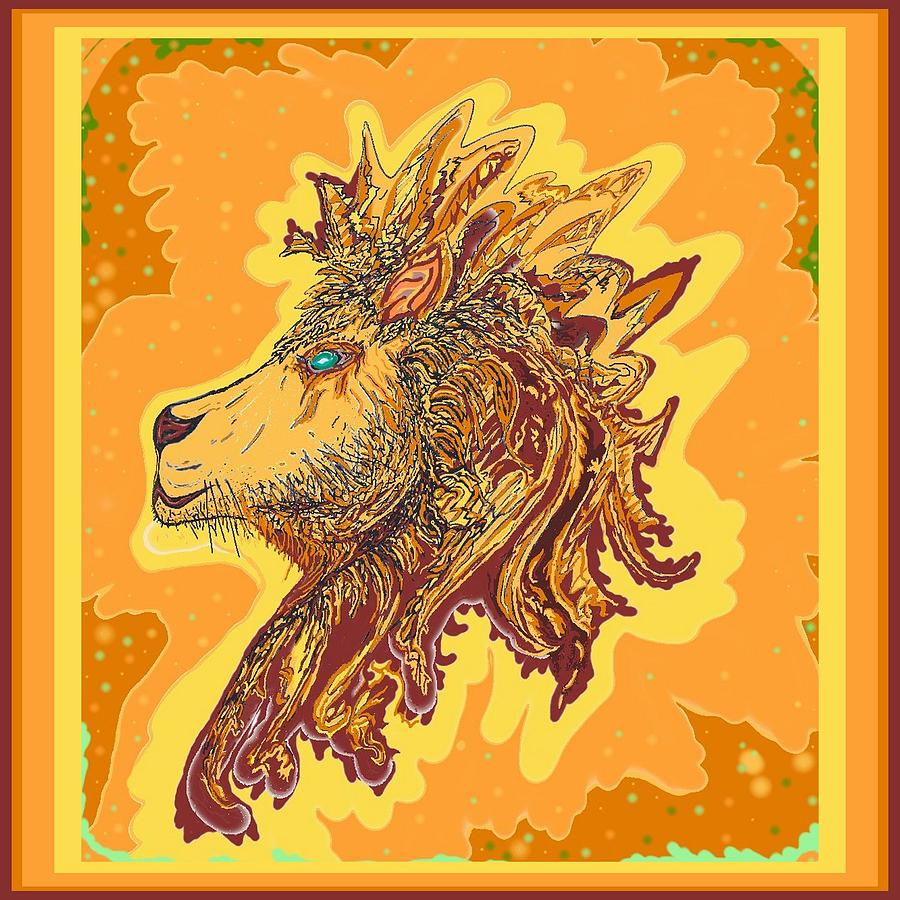 Lion King by Julia Woodman