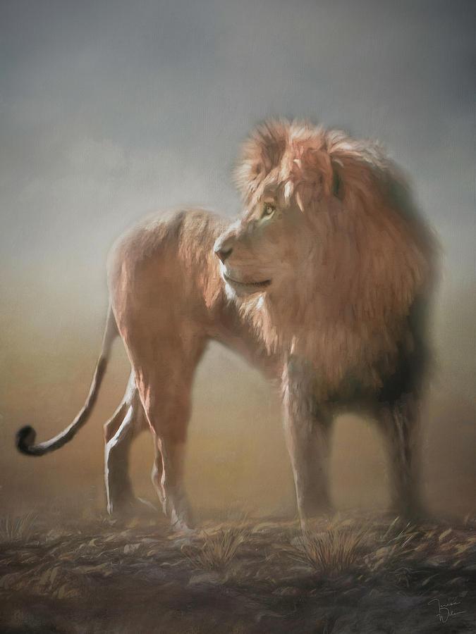 Lion King - Leader Of The Pride Digital Art