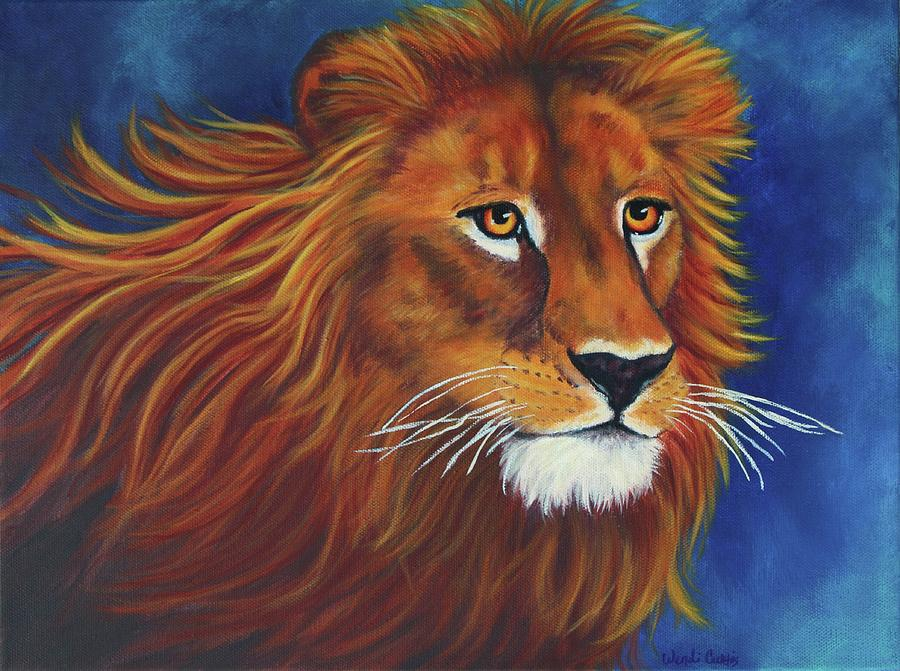 Lion Of Judah Painting