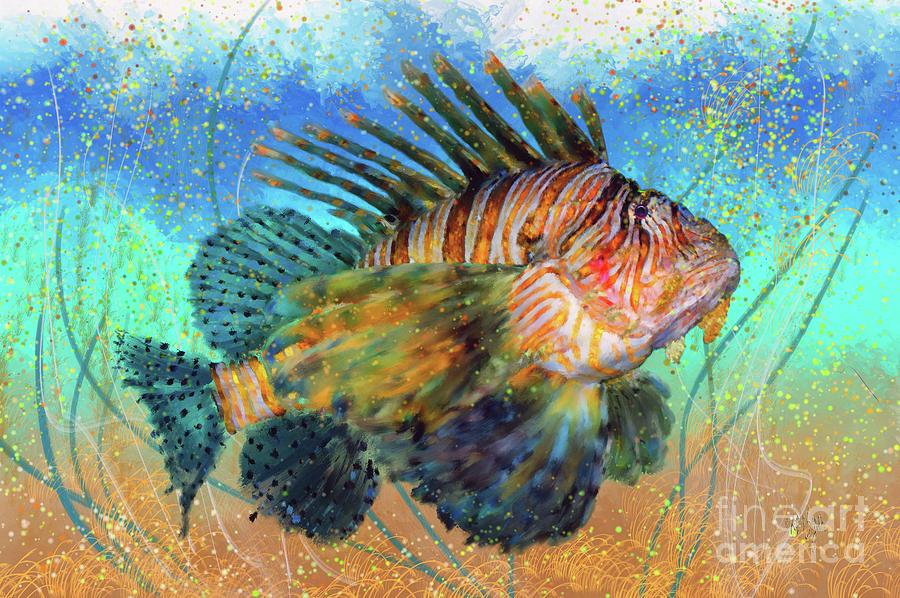 Lionfish by Lois Bryan