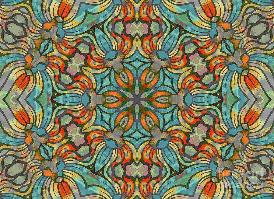 Abstract Digital Art - Lions Divergence by Banyan Ranch Studios
