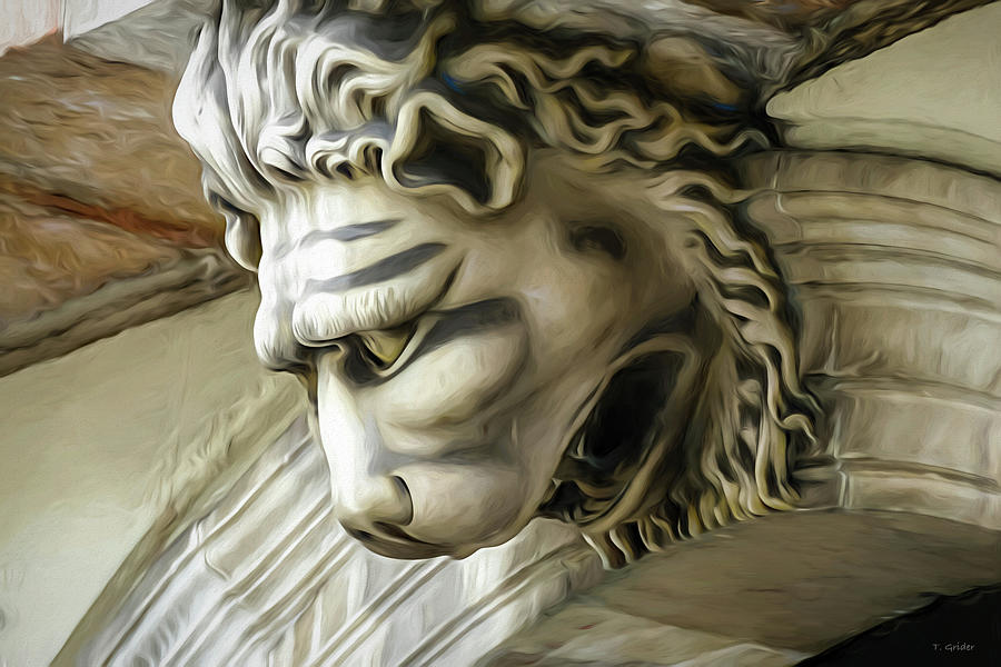 Lion's Head in Barcelona by TONY GRIDER