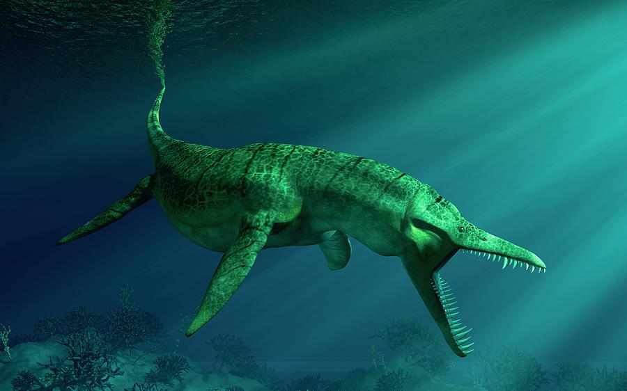 Liopleurodon Digital Art
