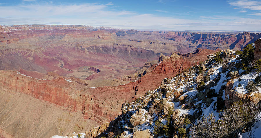 Lipan Point Panorama II by Todd Bannor