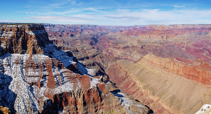 Lipan Point Panorama by Todd Bannor