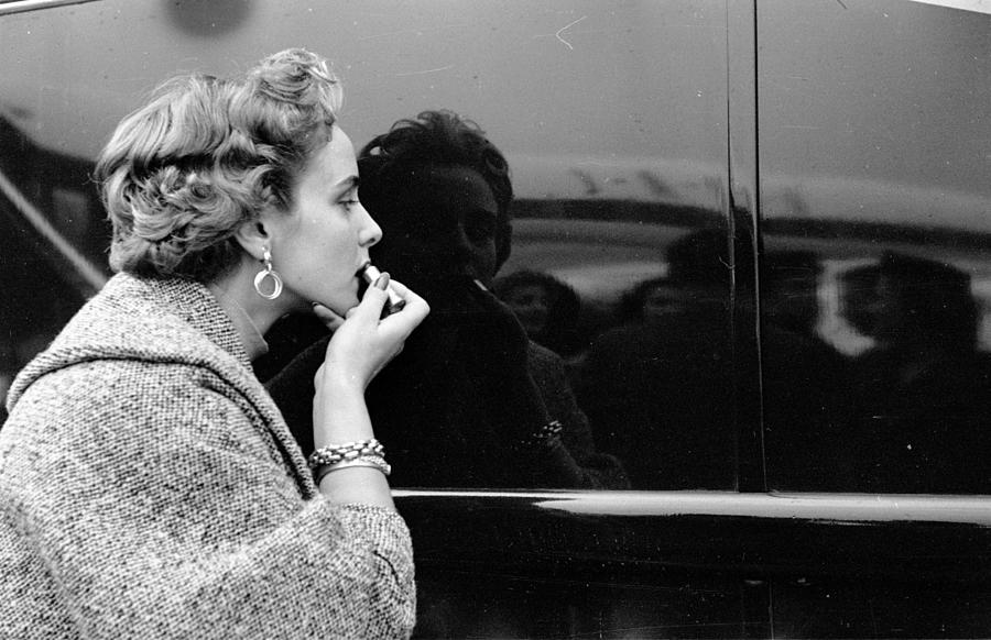 Lipstick Check Photograph by Thurston Hopkins