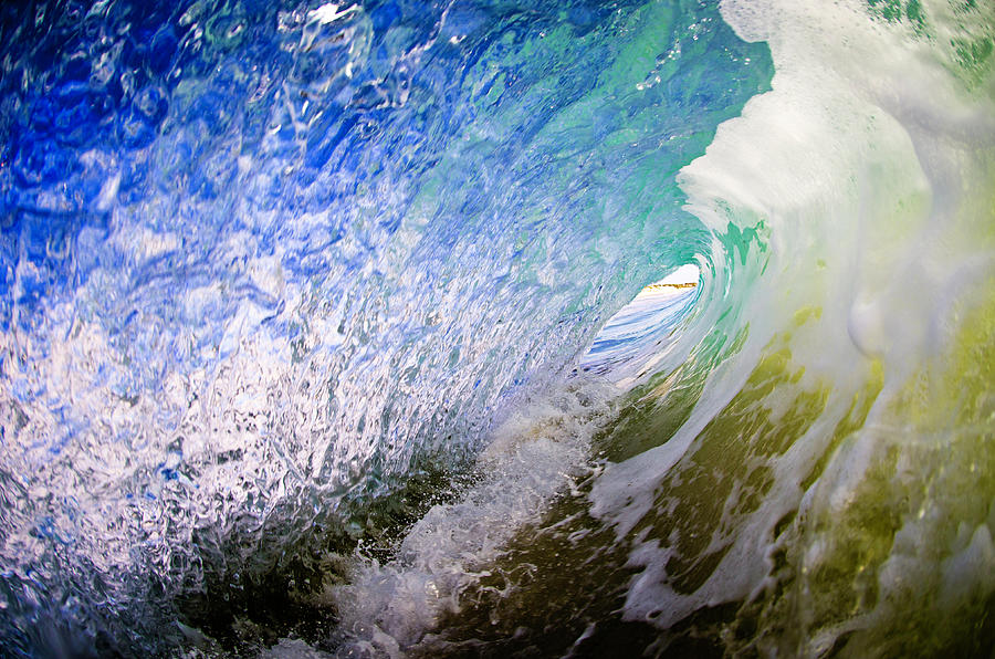 Liquid Colours Photograph by Shannonstent