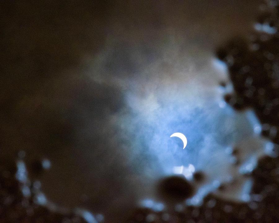 Liquified Solar Eclipse by Marlenda Clark