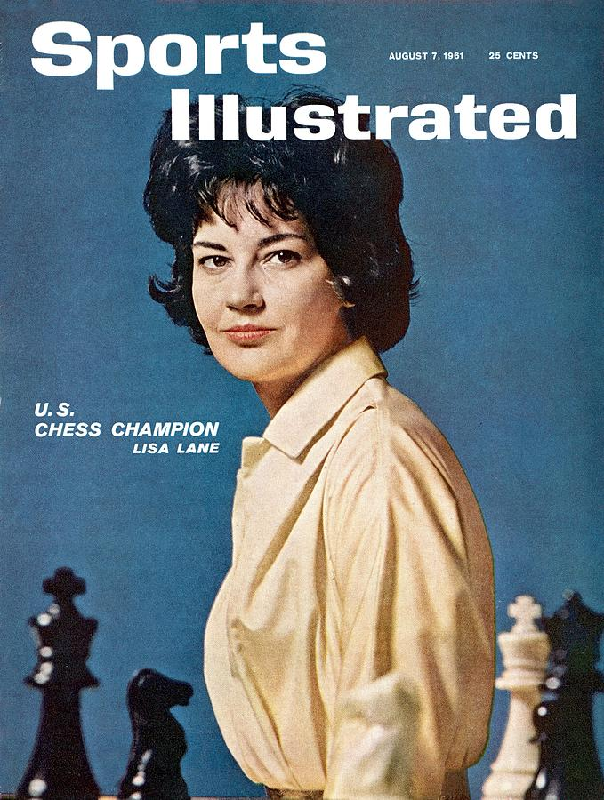 Lisa Lane, Us Chess Champion Sports Illustrated Cover Photograph by Sports Illustrated