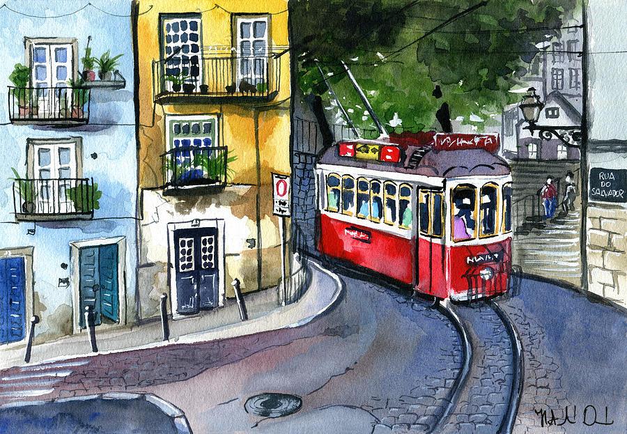 Lisbon Alfama Rua do Salvador by Dora Hathazi Mendes