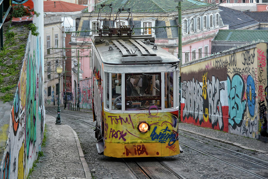 Lisbon Electrical Tramway Photograph