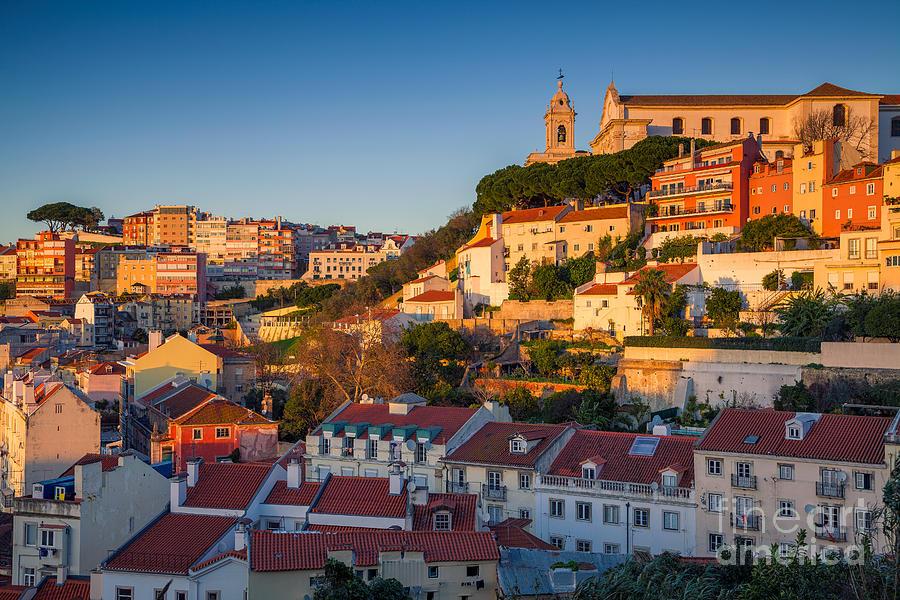 City Photograph - Lisbon. Image Of Lisbon, Portugal by Rudy Balasko