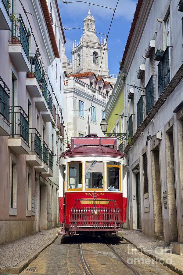 City Photograph - Lisbon. Image Of Street Of Lisbon by Rudy Balasko