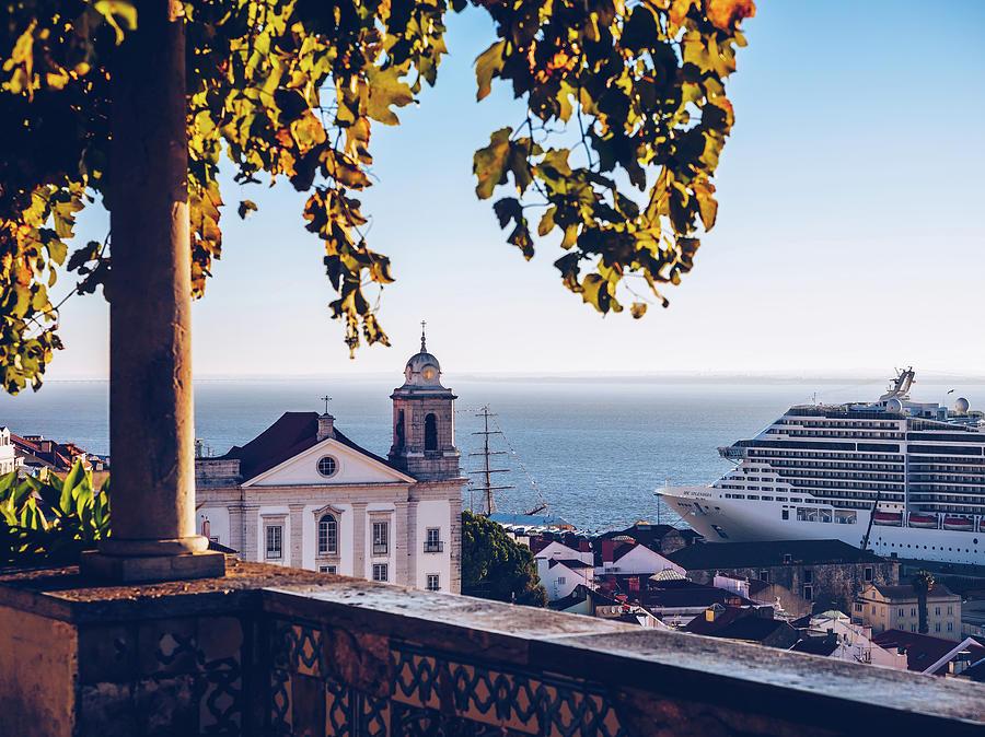 Lisbon - Miradouro de Santa Luzia by Alexander Voss