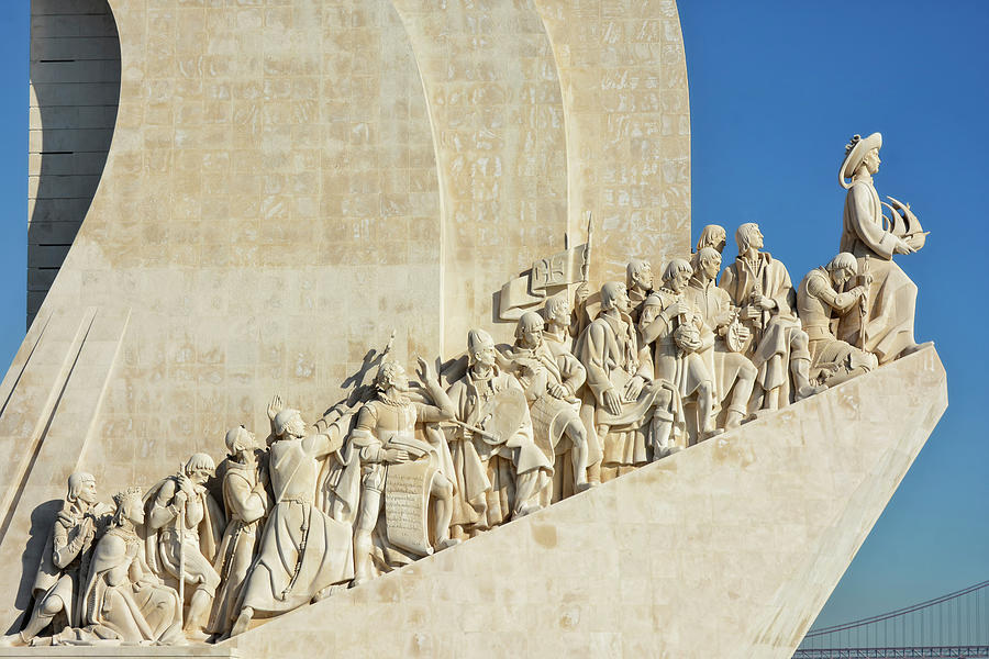 Lisbon - Monument Of The Discoveries Photograph