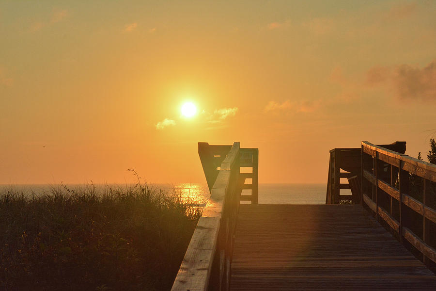 Beach Photograph - Listen To The Sunrise by Jamart Photography