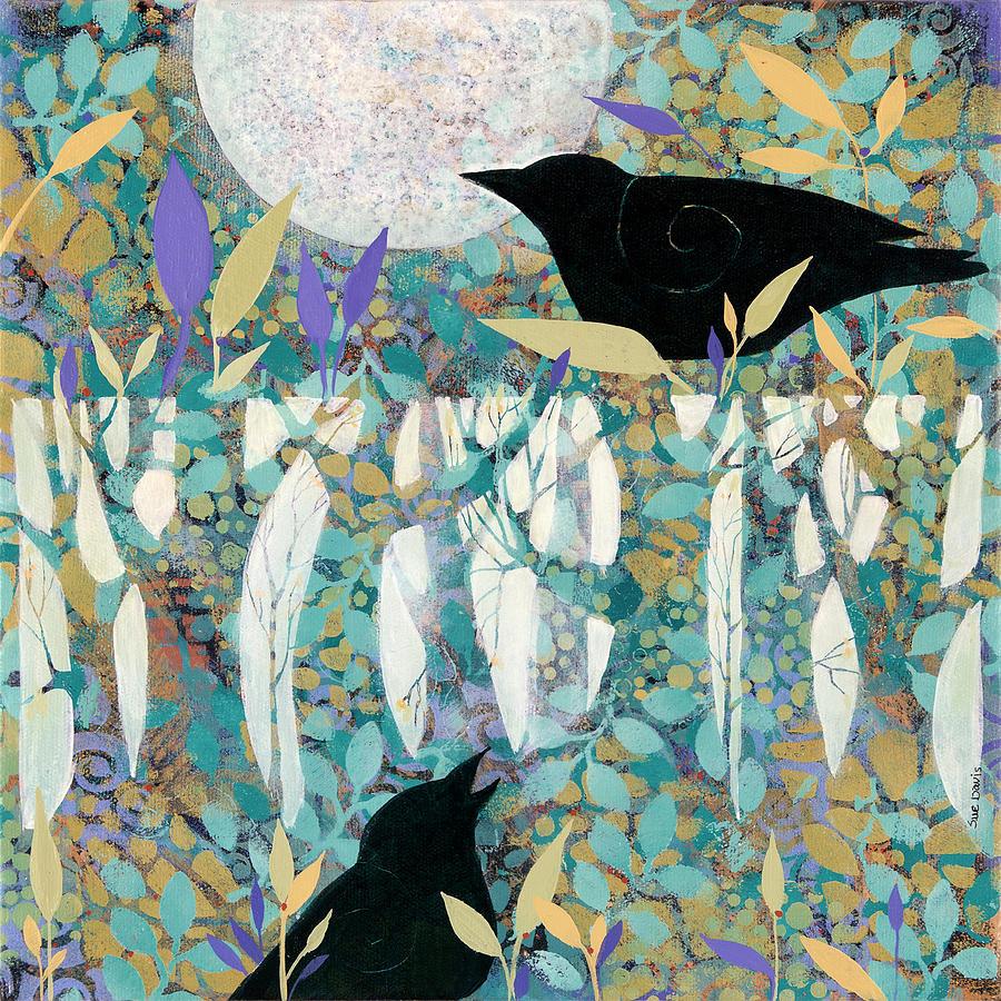 Listening Painting by Sue Davis