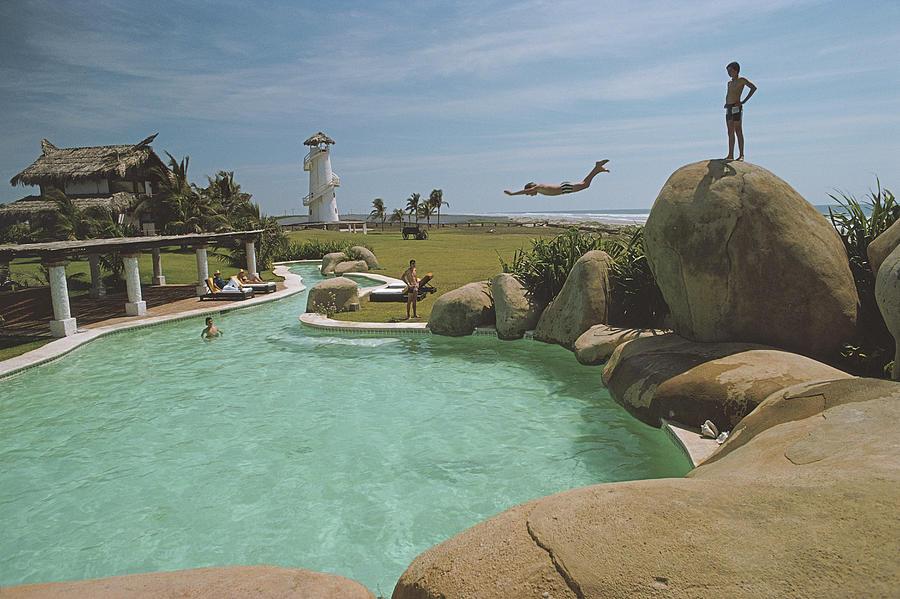 Little Beach House, Acapulco Photograph by Slim Aarons