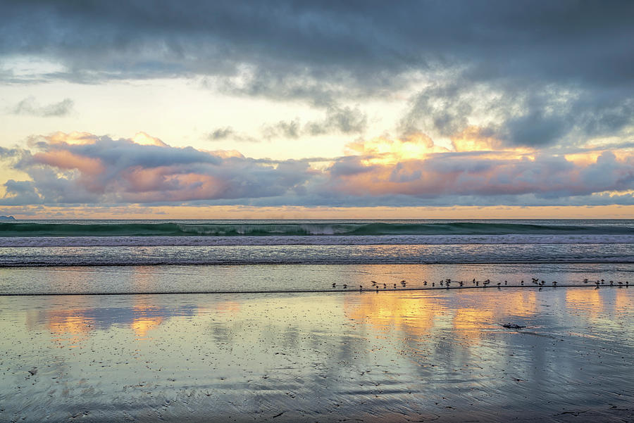 Little Birds and A Sunrise by Joseph S Giacalone
