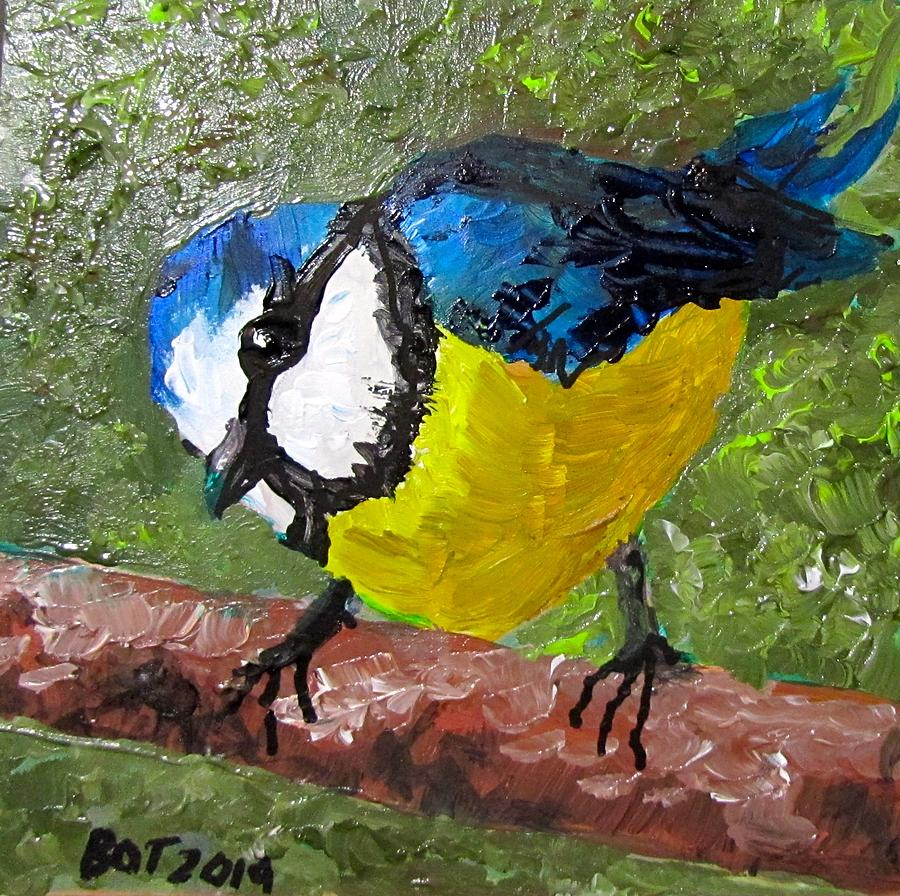 Little Blue Tit by Barbara O'Toole