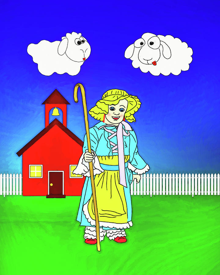 Little Bo Peep by John Haldane