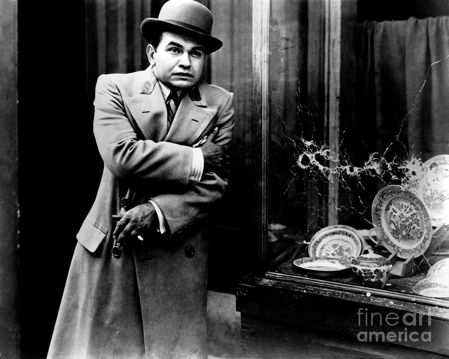 Edward G. Robinson Photograph - Little Ceasar - Edward G. Robinson by Sad Hill - Bizarre Los Angeles Archive