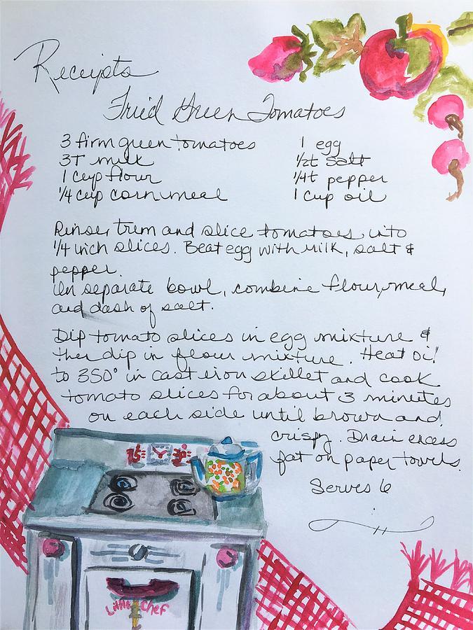Little Chef Recipe by Susan Elizabeth Jones