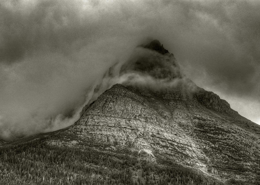 Little Chief Mountain by Michael Kirk