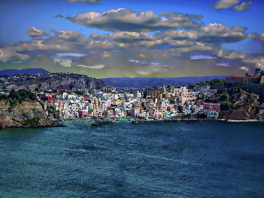 Little Harbor of Corricella by Anthony Dezenzio