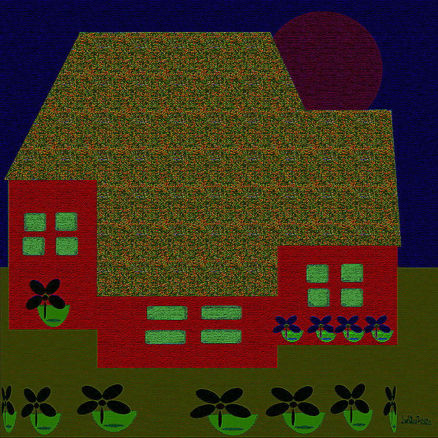Little House Painting 3 by Miss Pet Sitter