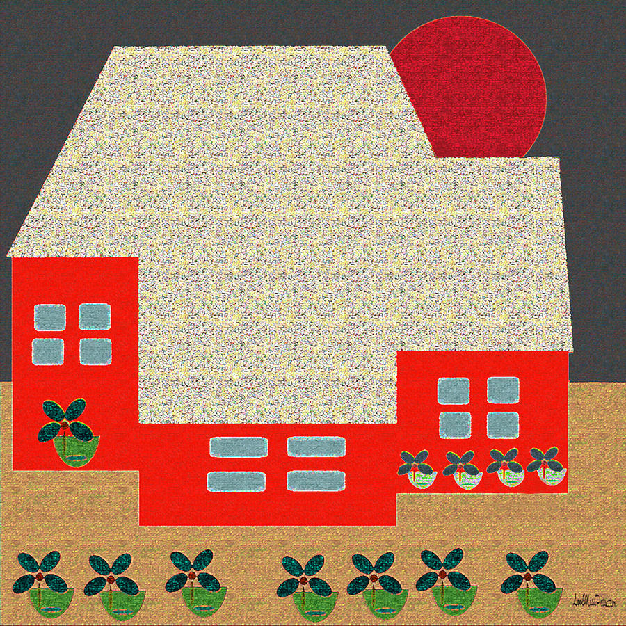 Little House Painting 4 by Miss Pet Sitter