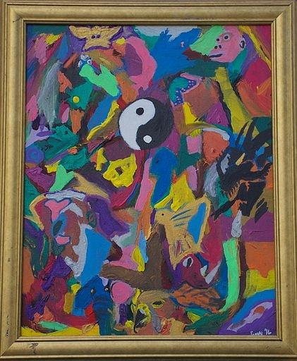 Little Idea Painting by Sonye Locksmith
