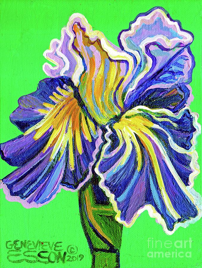 Little Iris Painting