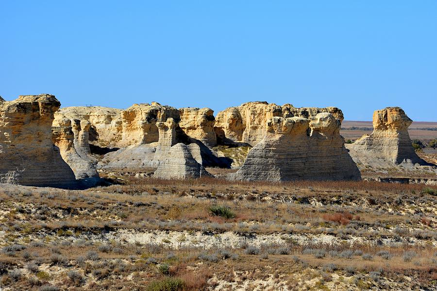 Little Jerusalem Badlands State Park by Keith Stokes