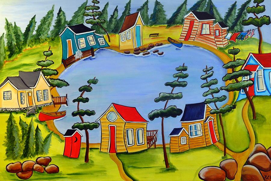 Little Lake by Heather Lovat-Fraser