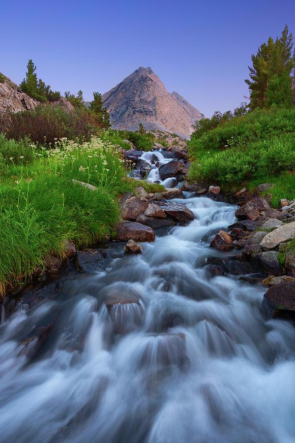 Little Lakes Cascade Photograph