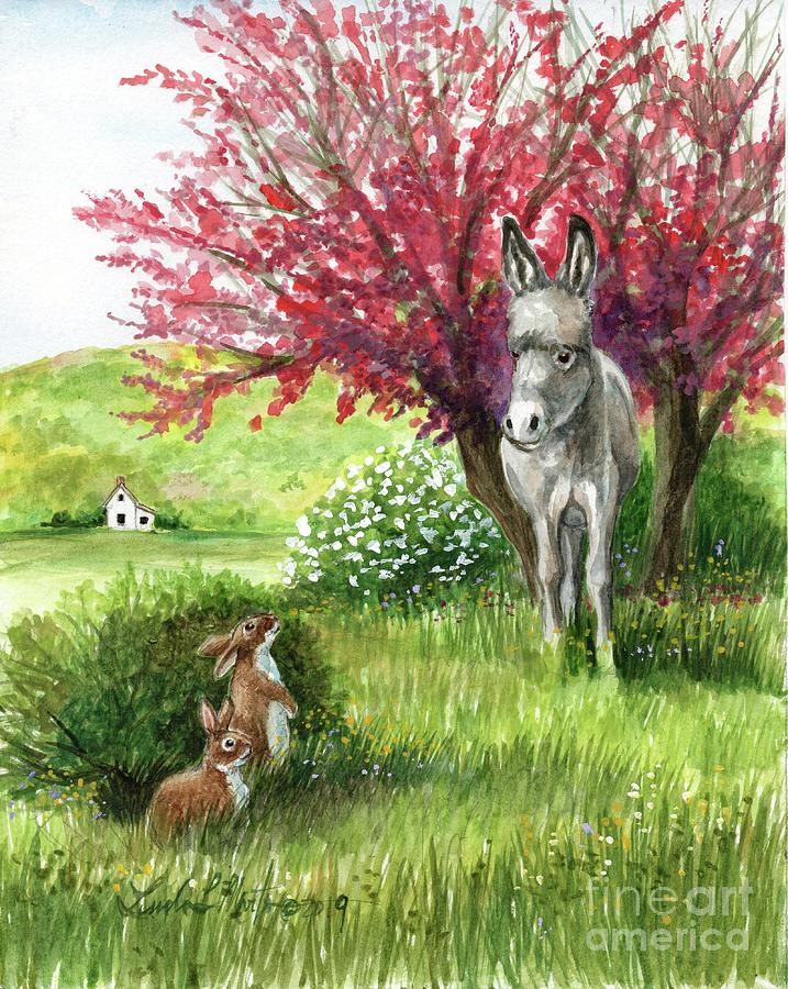 Little Long Ears/ Rabbits and Donkey by Linda L Martin