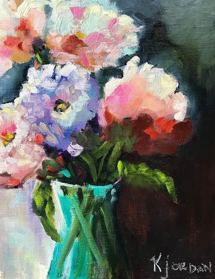 Little Pretties Painting by Karen Jordan