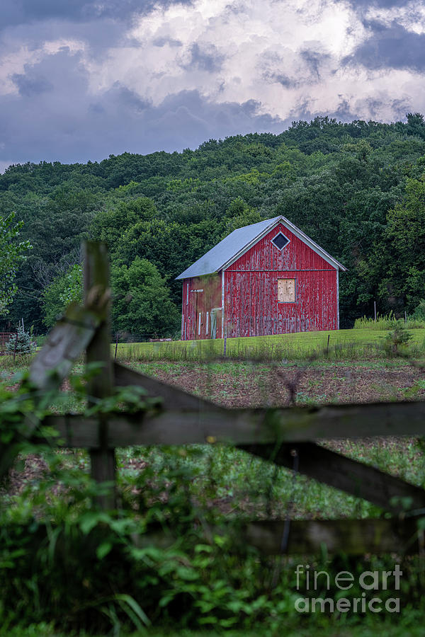 Little Red Barn by Jackie Johnson