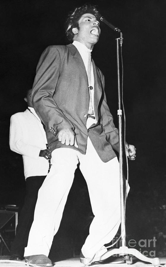 Little Richard On Stage Photograph by Bettmann