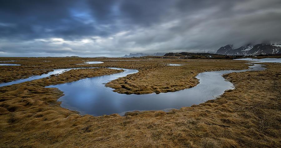 Little River Lofoten Photograph by Bjoern Alicke