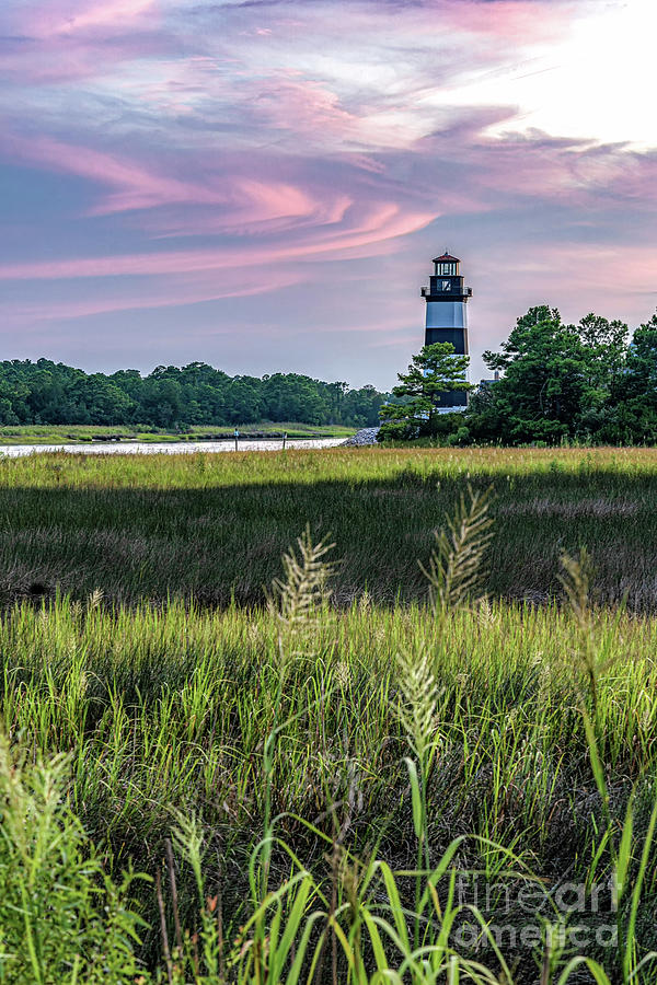 Little River Sunset by David Smith