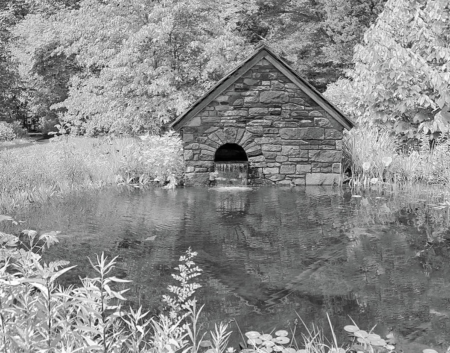 Little Stone Building by Eleanor Bortnick